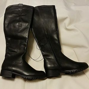 Universal Thread s 8.5 Monica leather riding boot